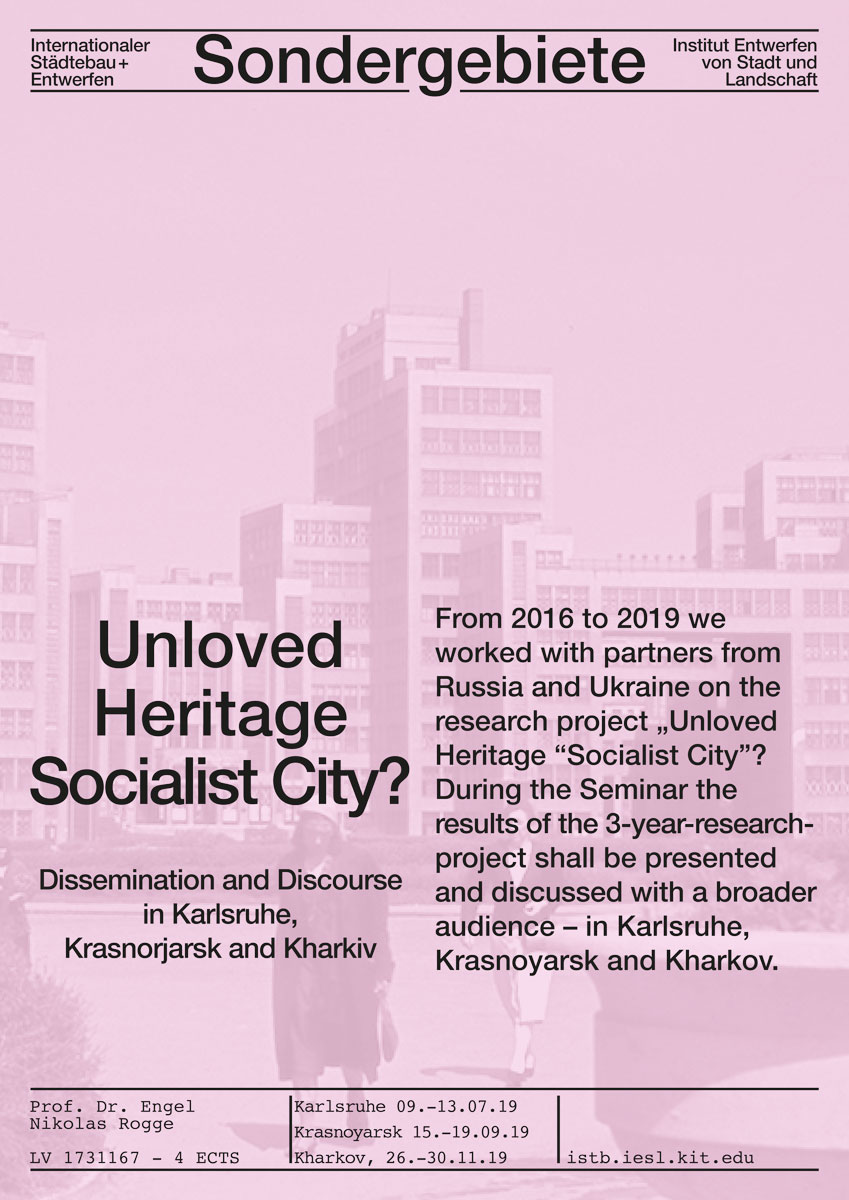 Unloved Heritage Socialist City?